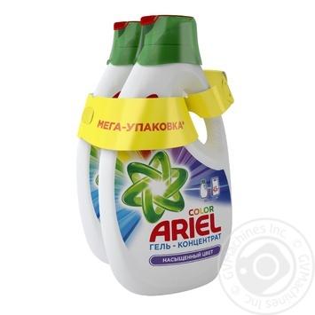 Жидкий стиральный порошок Ariel Color 2шт 1.95л