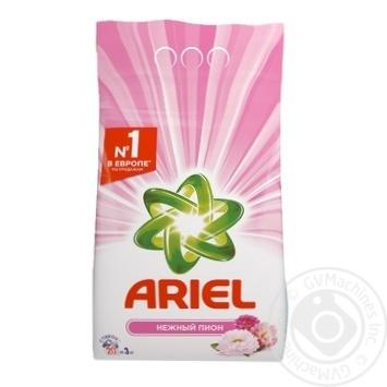 Порошок стиральный Ariel Нежный пион автомат 3кг