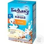 Каша Беллакт сухая молочная гречневая 200г