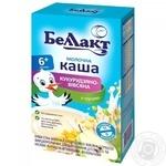 Bellakt milk corn-oat porridge with pear for children from 6 months 200g