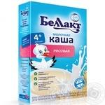 Каша Беллакт сухая молочная рисовая 200г