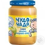Пюре Чудо-Чадо яблоко-морковь-айва с 4-ех месяцев 170мл