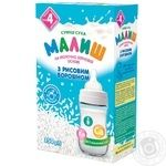 Dry milk formula Malysh with rice flour for 3+ month babies 350g