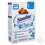 Milk formula Similak 1 dry without palm oil for babies from birth to 6 months 350g