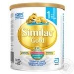 Суміш молочна Similac Gold 1 суха с 1 до 6 місяців 400г