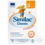 Mix milk Similac Classic dry for children from 12 months 600g