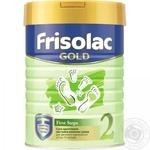Смесь Friso Frisolak 2 сухая молочная детская с 6 до 12 месяцев 400г