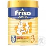Friso Frisolak 3 for 1 to 3 years children dry milk mixture 400g
