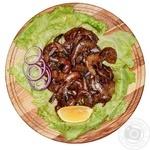 Креветки в соєво-імбирному соусі великі без голови охолоджені