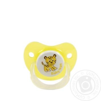 Пустышка Baby Team силиконовая ортодонтическая - купить, цены на Novus - фото 3