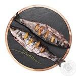 Сибас в черничном маринаде охлажденный