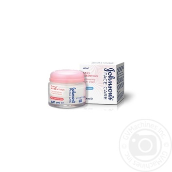 Cream Johnsons Daily essentials for face 50ml - buy, prices for Novus - image 1