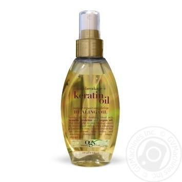 Масло-спрей Ogx против ломкости волос 118мл - купить, цены на Novus - фото 2