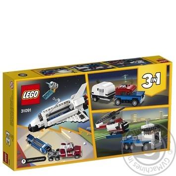 Конструктор Lego Тягач c шаттлом 31091