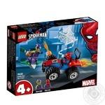 Конструктор Lego Людина-Павук та переслідування на автомобілі76133