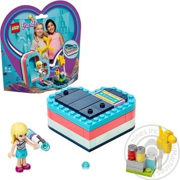 Конструктор Lego Коробка-серце: літо зі Стефані41386