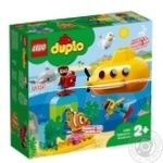 Конструктор Lego Duplo Приключения на субмарине