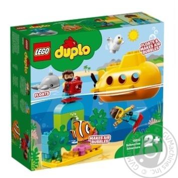 Конструктор Lego Duplo Приключения на субмарине - купить, цены на Novus - фото 1