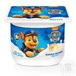 Danone Paw Patrol banana yogurt 2% 115g