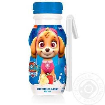 Йогурт питьевой Данколекция Клубника-банан 1,5% 185г - купить, цены на Varus - фото 2
