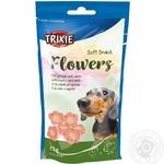 Ласощі для собак Trixie Flowers курка та ягня 75г