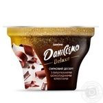 Десерт творожный Danone Данисcимо Deluxe шоколадная крошка 3% 130г