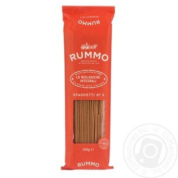 Rummo Le Biologiche Intergrali Pasta Spaghetti №3 500g