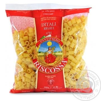 Макаронные изделия Riscossa №61 Ditari Rigati 500г