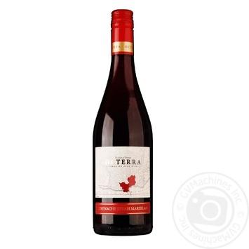 Вино Octerra Grenache-Syrah-Marselan Pays D'OC червоне напівсухе 12% 0,75л - купити, ціни на Novus - фото 1