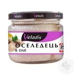 Veladis Herring fillet in oil 250g