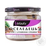 Veladis Herring fillet in oil with racy spices 250g