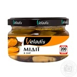 Seafood mussles Veladis pickled 200g glass jar