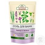 Zelenaya Apteka Bath Salt Lavender and Melissa 500g