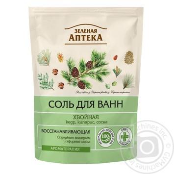 Zelenaya Apteka Bath Salt Coniferous 500g