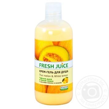 Крем-гель для душа Fresh Juice Thai melon & White lemon 500мл