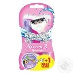 Бритва одноразовая Wilkinson Sword Xtreme3 Beauty для женщин 3+1шт