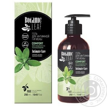 Гель Botanic Leaf Comfort для интимной гигиены 250мл