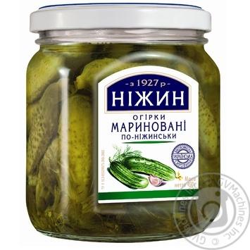 Огірки Ніжин По-ніжинськи мариновані 450мл