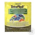 Корм Tetra Phyll для рослиноїдних риб 12г