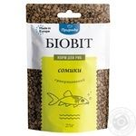 Сухой корм для аквариумных рыб Природа в гранулах Биовит Сомики 25г - купить, цены на МегаМаркет - фото 1