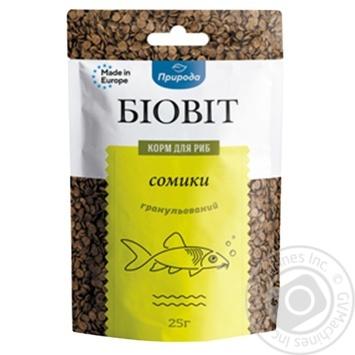 Корм для риб Біовіт Сомики гранульований 25г - купити, ціни на МегаМаркет - фото 1