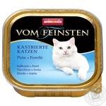 Корм для котів Animonda Vom Feinsten індичка-форель100г