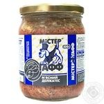 Food Mister gaff rabbit for dogs 500g