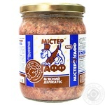 Food Mister gaff beef for dogs 500g
