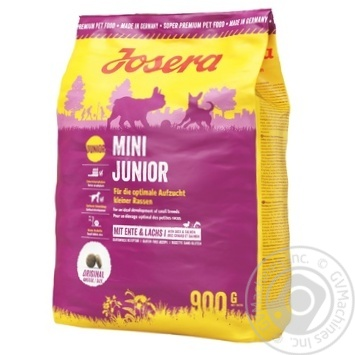 Корм Josera Mini Junior сухой для собак 900г