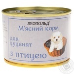 Food Leopold poultry for dogs 190g