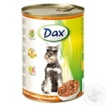 Food Dax poultry for pets 415g