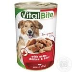 Food poultry canned for pets 1240g