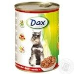 Food Dax beef canned for pets 415g can