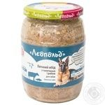Food Leopold veal for dogs 720g